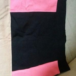 Three tone skirt